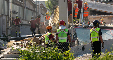 Two earthquakes in two weeks test Italians' morale