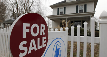 Huge mortgage debts keep the housing market tumbling