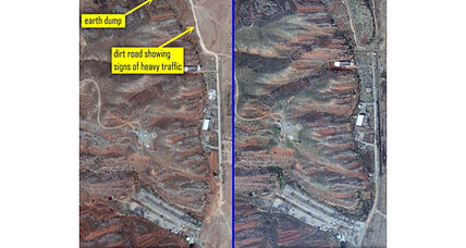Satellite images suggest Iran cleaning up past nuclear weapons-related work