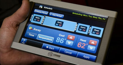 Properly used, a programmable thermostat cuts energy costs