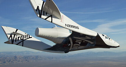 Virgin Galactic spaceship cleared for test flights