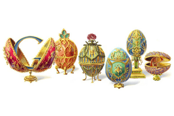Peter carl faberg how communism crushed the faberge egg peter carl faberg and his faberge eggs marked todays google doodle the russian jeweler would have turned 166 today negle Gallery