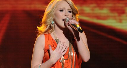 American Idol final three give tearful goodbye to Hollie Cavanagh (+video)