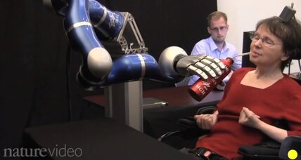 Paralyzed woman masters mind-controlled robotic arm