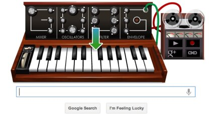 10 great songs made with the Bob Moog Google Doodle