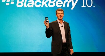BlackBerry CEO calls iPhone interface outdated