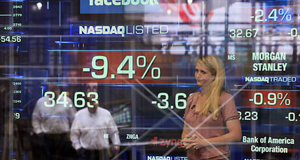 Facebook stock falls 11 percent in second trading day