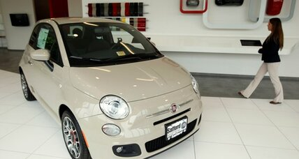 Fiat auctions special edition car via Twitter
