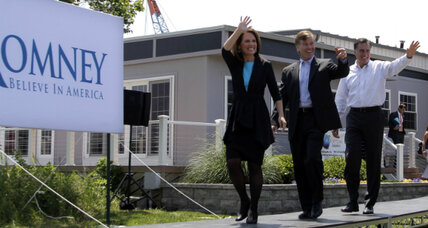 Why is Michele Bachmann endorsing Mitt Romney now?