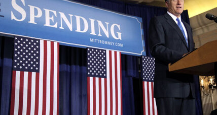 Romney hits back on economy, says Obama causing a 'prairie fire of debt'