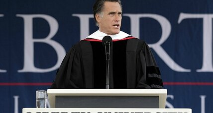 How did Romney do at Liberty University? Just fine, evangelicals say