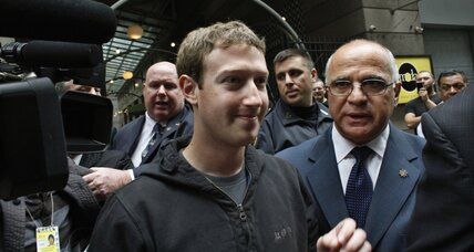 Facebook IPO as a measure of social trust