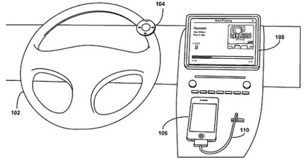 Latest idea from Apple: an in-car remote