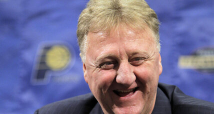 Larry Bird named NBA Executive of the Year