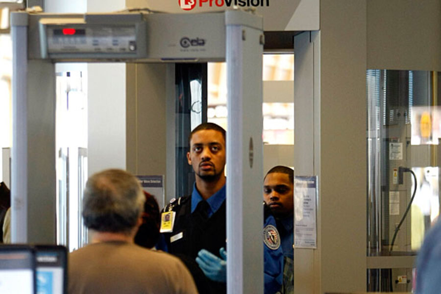 airport theft security
