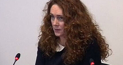 Rebekah Brooks discusses links to British PM Cameron in phone hacking inquiry