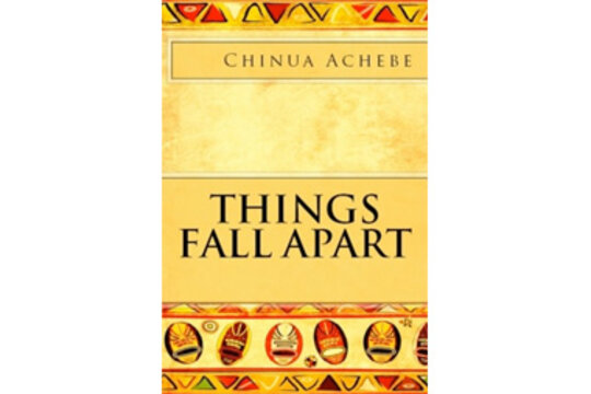 a reading review of things fall apart chinua achebe Read things fall apart by chinua achebe with rakuten kobo okonkwo is the greatest warrior alive, famous throughout west africa but when he accidentally kills a.