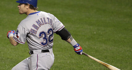 Rangers' Josh Hamilton joins select club with 4-homer game vs. Orioles