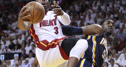 NBA playoffs: Heat scorch Pacers in Eastern semi Game 5
