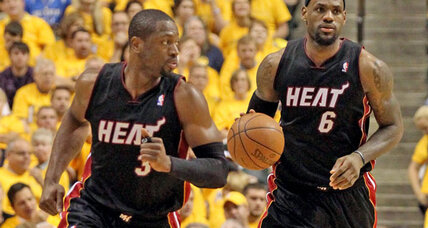 'Dynamic Duo' proves too much for Pacers as Heat advance