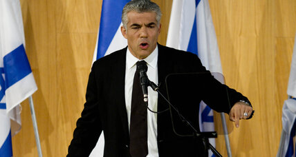 New kind of Israeli politician? Yair Lapid doesn't talk about Iran, Palestinians