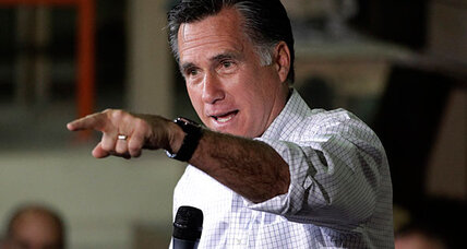Obama's lead over Romney shrinks in 12 swing states