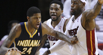 NBA playoffs: Pacers cool Heat, tying Eastern series at one
