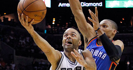 Tony Parker leads San Antonio Spurs to 20th consecutive NBA win