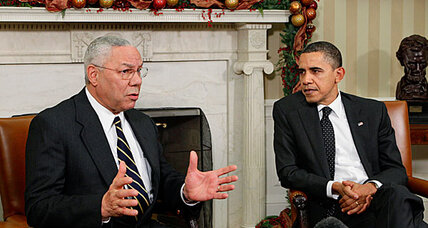 Colin Powell is not endorsing Obama or Romney, yet
