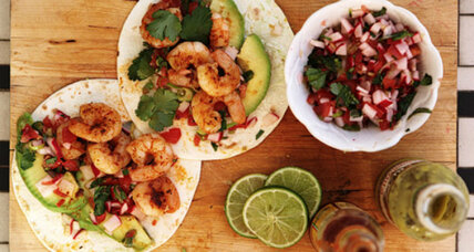 Cinco de Mayo: Shrimp tacos with spring onion salsa