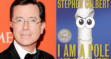 Stephen Colbert's children's book tops the bestseller list
