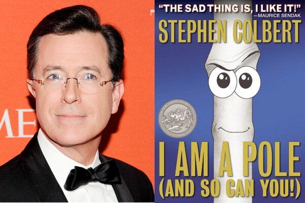 colbert report books 2012 Find great deals for i am a pole (and so can you) by stephen colbert (2012, hardcover) shop with confidence on ebay.