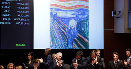 The Scream sale led to record $330 million auction at Sotheby's