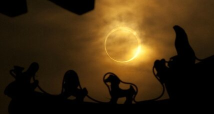 Solar eclipse: How to safely watch this evening's 'ring of fire'