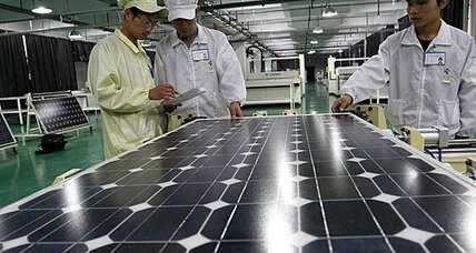 China rails at 30 percent tariff on solar panels