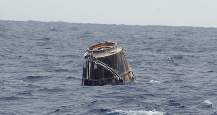 SpaceX Dragon cargo ship splashes down in Pacific Ocean