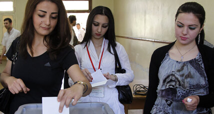 Syria holds an election despite months of fighting