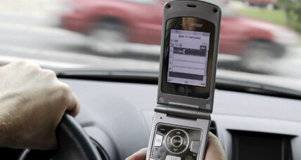 Inconvenient truths to a ban on texting while driving