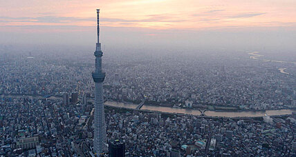 World's tallest tower is now in Tokyo