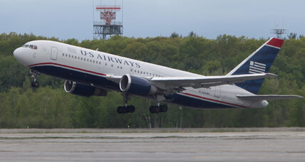 Woman's note causes US Airways flight to be diverted with fighter jets