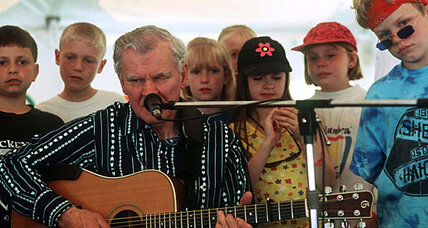 Doc Watson: North Carolina's blind guitar picker extraordinaire