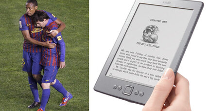 FC Barcelona stars help to bring e-books to Africa