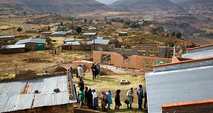 Democracy 101: tiny Lesotho holds peaceful election