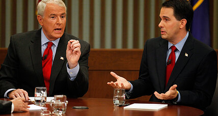Wisconsin recall: Did Tom Barrett close gap with Scott Walker in debate?