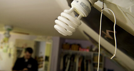 A strategy for using LED light bulbs