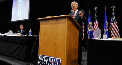 Does Ron Paul want his supporters to cool it?