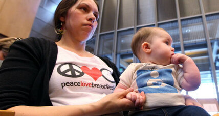 Breastfeeding goals: Over half of new moms miss the mark
