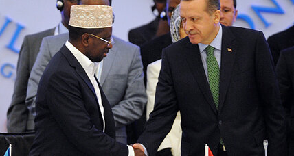 Turkey takes lead in rebuilding Somalia