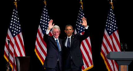 Bill Clinton says Romney win would be 'calamitous.' Why the harsh turn? (+video)