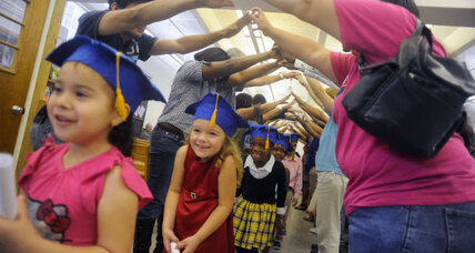 Pre-school graduation: Sad symptom of accelerated childhood